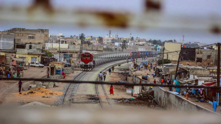 La città di Dakar.